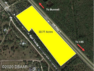 0 US 1 (22.77 AC) Highway, Bunnell, FL 32110