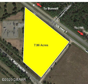 0 US 1 (7.98 AC) Highway, Bunnell, FL 32110