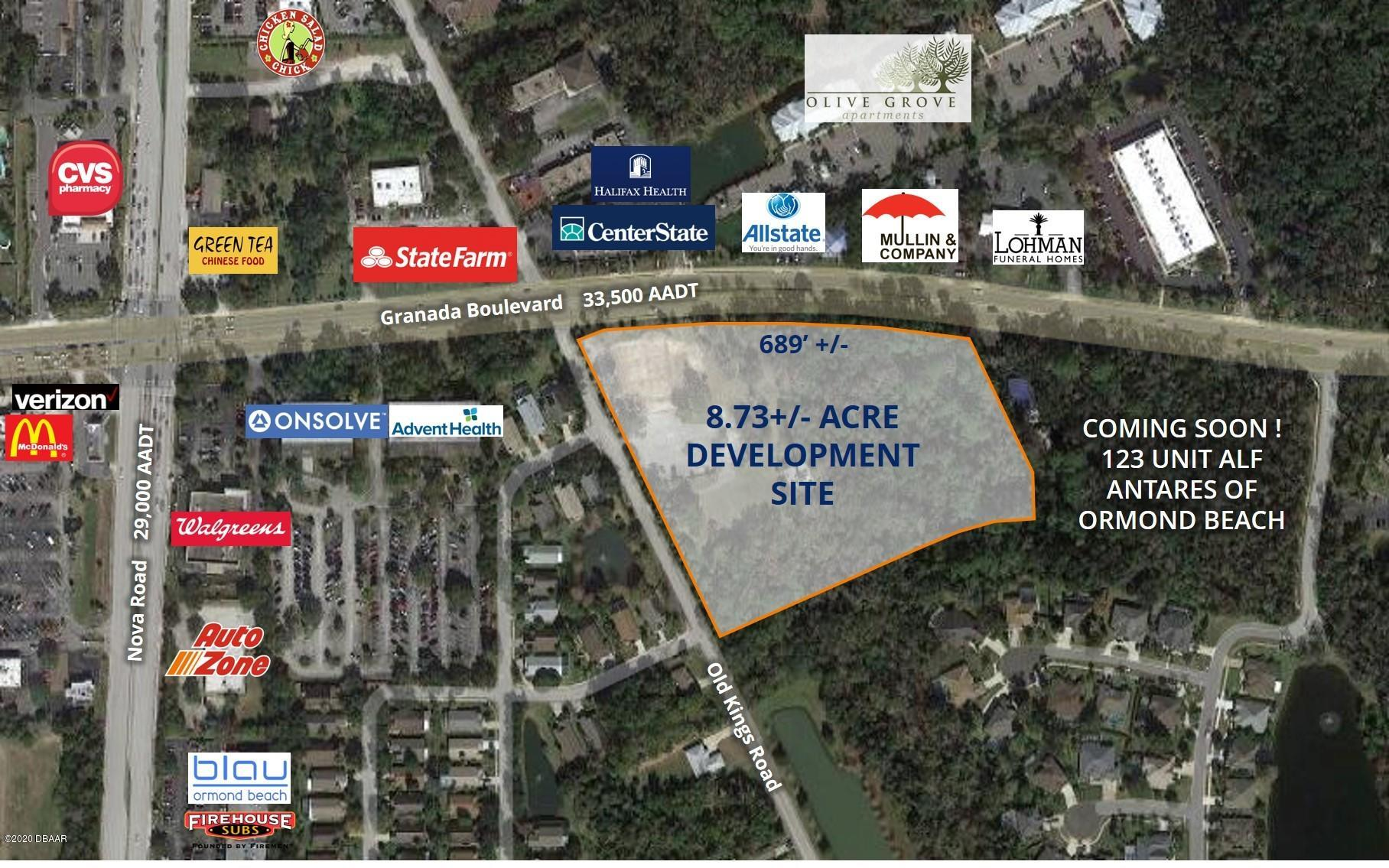 Property for sale at 700 Blk Granada Boulevard, Ormond Beach,  Florida 32174