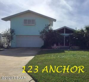 123 Anchor Drive, Ponce Inlet, FL 32127