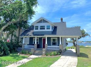 Cape Cod Elevation - Built in 1900 Freshly Painted Grey with Red Door