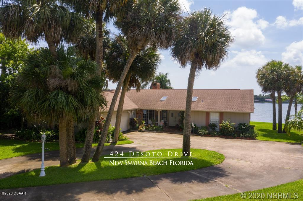 Photo of 424 Desoto Drive, New Smyrna Beach, FL 32169