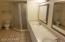 Large Bathroom with double sink vanity