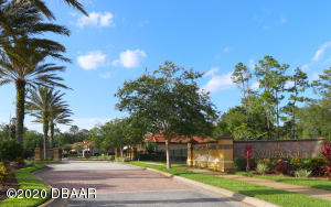 The Gated Entry of IL VILLAGGIO. Ormond Beach, Florida