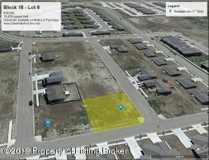 Block 18- Lot 6 Harvest Hills, Williston, ND 58801