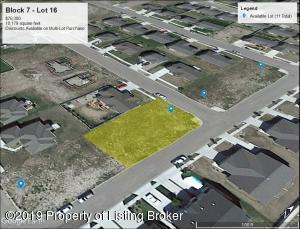 Block 7 - Lot 16 Harvest Hills, Williston, ND 58801