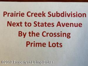 BLK 7 LOT 3 Prairie Creek Road, Dickinson, ND 58601