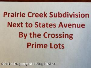 BLK 7 LOT 2 Prairie Creek Road, Dickinson, ND 58601