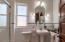 Main Level Bathroom with custom tile work