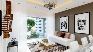 Apartamento En Ventaen Santo Domingo, Evaristo Morales, Republica Dominicana, DO RAH: 17-1271