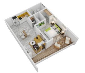 Apartamento En Ventaen Punta Cana, Bavaro, Republica Dominicana, DO RAH: 19-1304