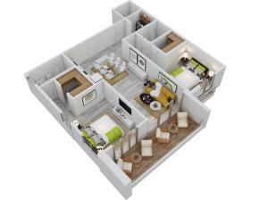 Apartamento En Ventaen Punta Cana, Bavaro, Republica Dominicana, DO RAH: 19-1305