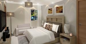 Apartamento En Ventaen Distrito Nacional, Evaristo Morales, Republica Dominicana, DO RAH: 20-294