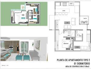 Apartamento En Ventaen Punta Cana, Bavaro, Republica Dominicana, DO RAH: 21-2959