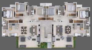 Apartamento En Ventaen Santo Domingo Oeste, Villa Aura, Republica Dominicana, DO RAH: 22-182