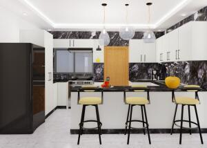 Apartamento En Ventaen San Francisco De Macoris, Urbanizacion Neftali, Republica Dominicana, DO RAH: 22-245