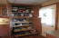 Pull out shelving in cabinets