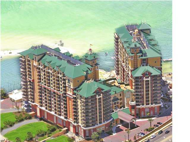 Fractional Ownership. Share A for sale. 6 Weeks of Usage each year. Three bedroom/three bathroom condominium and can sleep up to 8 guests. Water views include the East Pass, Destin Harbor, and the Gulf of Mexico. Amenities galore include The Spa at Emerald Grande offering 11 treatment rooms for individual and couple treatments, East Pass fitness center with cardiovascular equipment and free weights, water beach shuttle that will take owners to Destin's famous pristine, white beaches, 2,500 square foot Grande Vista Pool Deck,and much more.