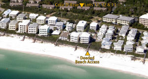 Aerial Includes Deeded Beach Access