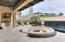 Limestone courtyard & summer kitchen