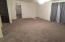 Big Living Room with new carpet.