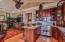 Bamboo floors, vaulted ceiling, granite counters, Viking Electric Range