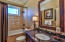 Shared by the 2 bedrooms with twin beds and the great room.