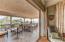Vanishing wall in upper suite opens onto an outstanding viewing veranda....