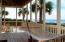 Built in hammock on the gulf-front 1st floor deck - perfect spot for a nap.