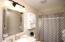 Full, spacious bathroom
