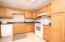 Kitchen with lots of cabinet storage