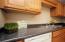 Clean, spacious countertops