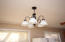 New light fixture in kitchen