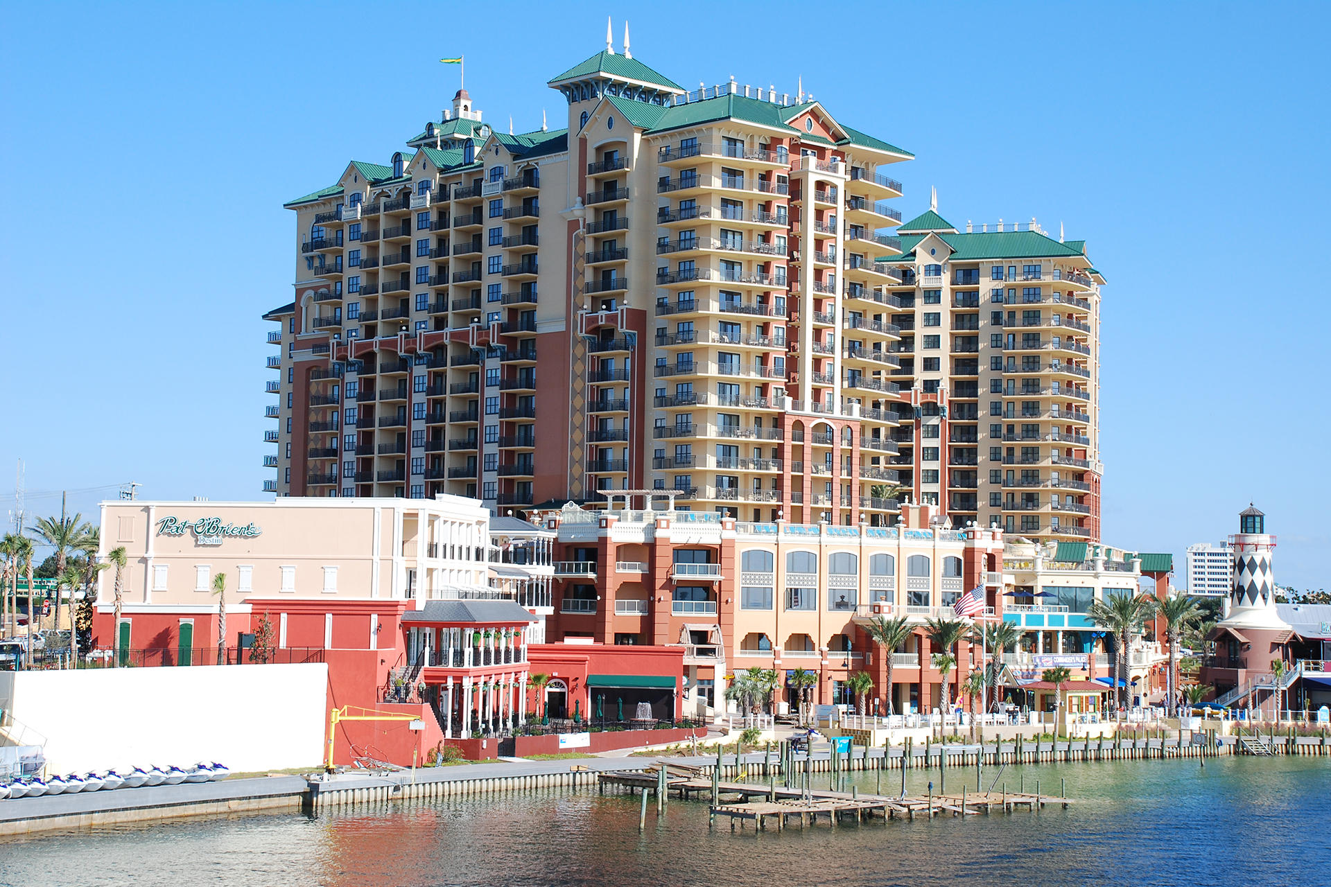 """Fractional Real Estate Ownership at the Emerald Grande.  Each Fractional interest entitles the owner to 6 weeks of exclusive use per year.  These weeks are call """"Annual Reserved Use Period.""""  The ''Use Periods'' consist of two rotating consecutive summer weeks, plus four additional rotating weeks of use.  By rotating the ''Use Weeks'' each year, all owners are given equal access to holiday periods.  This Fractional Ownership Condo is a 3BR/3BA, 1,675SF with amazing Gulf views.   Other features include stainless appliances, granite countertops, 9ft ceilings, crown molding, Italian porcelain floors, & more. Emerald Grande boast amazing amenities, including large pool area, shopping, restaurants, harbor activities and much more.  Truly a Grande experience!  Owner Financing Available!"""