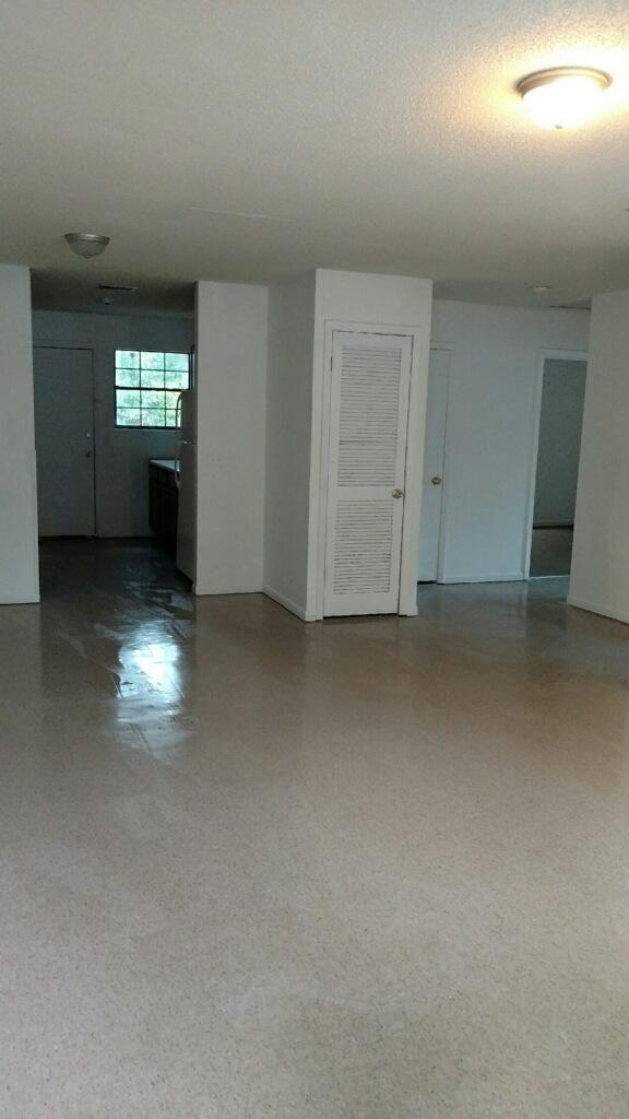 3 bed, 1 bath, very clean, BRAND NEW tile floors, central heat and air. Ready to move in immediately. $600 a month, $600 security. Small housebroken dog OK with non-refundable pet fee.Must fill out rental application, references will be checked. HUD accepted. Must be able to verify at least 12 months of on-time rent payments if not on HUD.