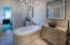Separate marble steam shower