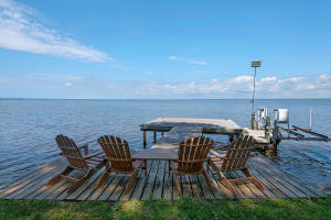 Your own private dock!
