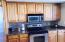 Kitchen Stove Top and Microwave