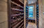 Climate controlled wine room