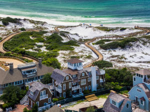 Golf cart to the mile of Watersound's beaches & Beach club