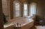 Great relaxing master bath