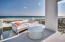 Second floor balcony with endless views of the Gulf.