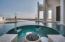 Dramatic infinity pool.