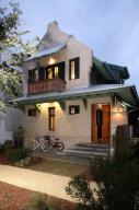 """Exterior of this LEED certified """"Green"""" home"""
