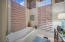 Master bathroom garden tub.