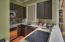 Carriage house kitchen.