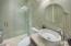 Carriage house bathroom.