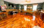 Huge bonus room/game room upstairs