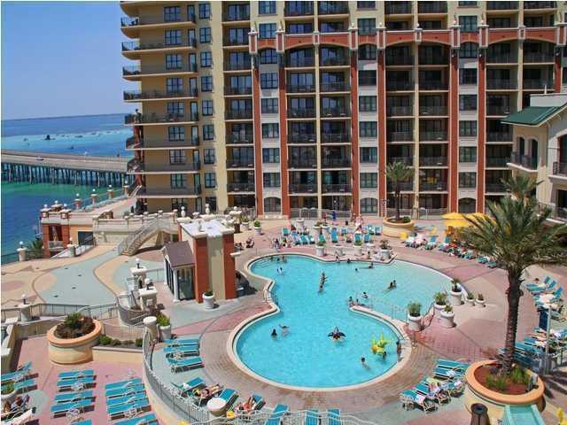 ''Fractional Ownership'' Fractional ownership. OWNER FINANCING AVAIALBLE. One of the best positioned condos at Emerald Grand! The wrap around balcony provides extraordinary views of: Destin Harbor, East Pass, Gulf of Mexico, Destin Bridge & Crab Island. Features include: Crown molding, stainless steel GE Profile appliances, granite countertop and breakfast bar, Italian porcelain floors, recessed lighting and breathtaking views from almost every room. Emerald Grande amenities include 9,700 SF European spa and fitness center, state of the art business center, on-site restaurants and lounges, two marinas, underground parking, indoor and outdoor heated pools overlooking Gulf of Mexico.Seller is motivated to sell!!!