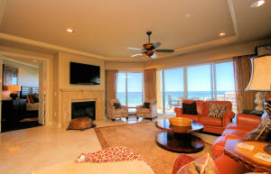 Beautiful open living area with incredible Gulf views